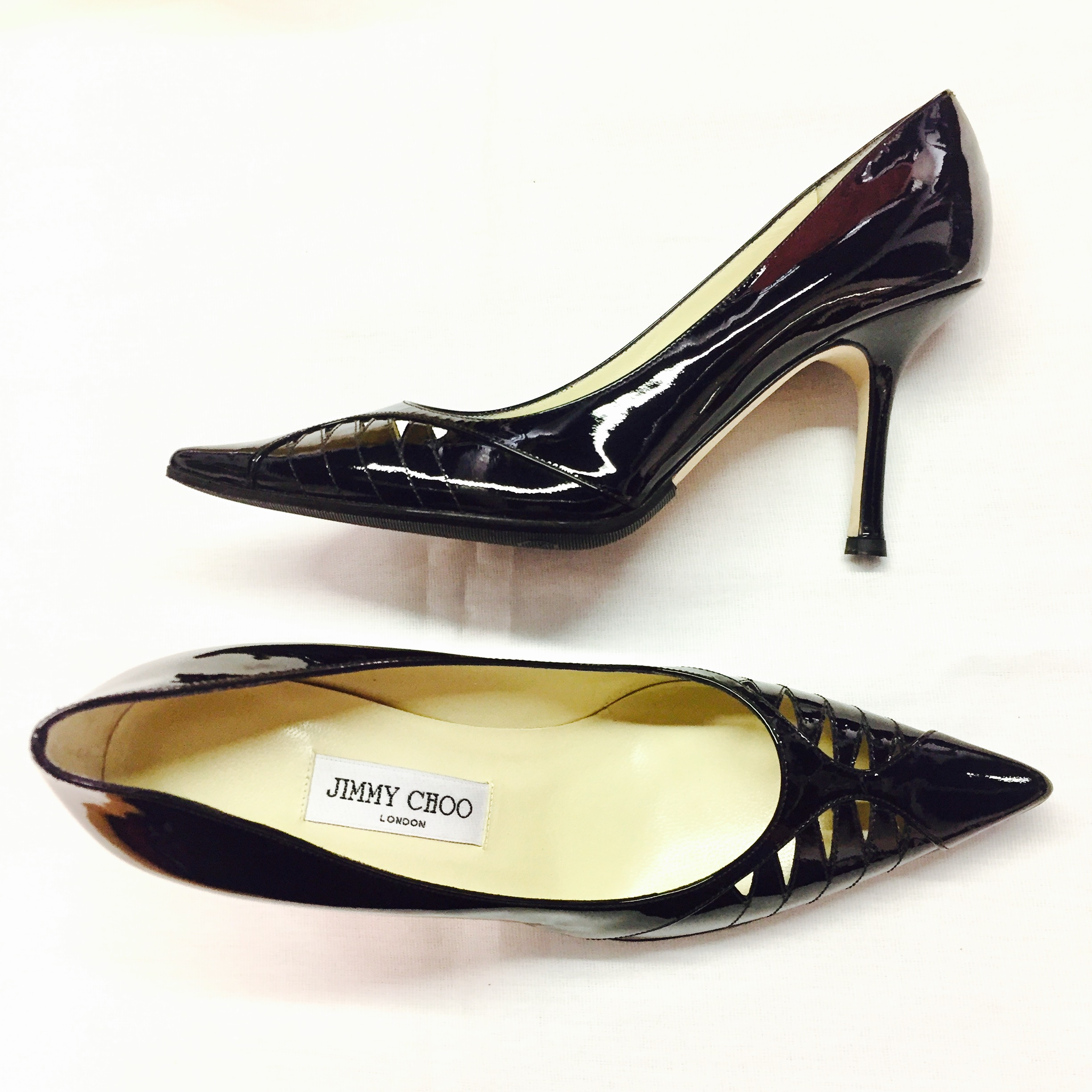 d644abedc01 Jimmy Choo patent leather 39