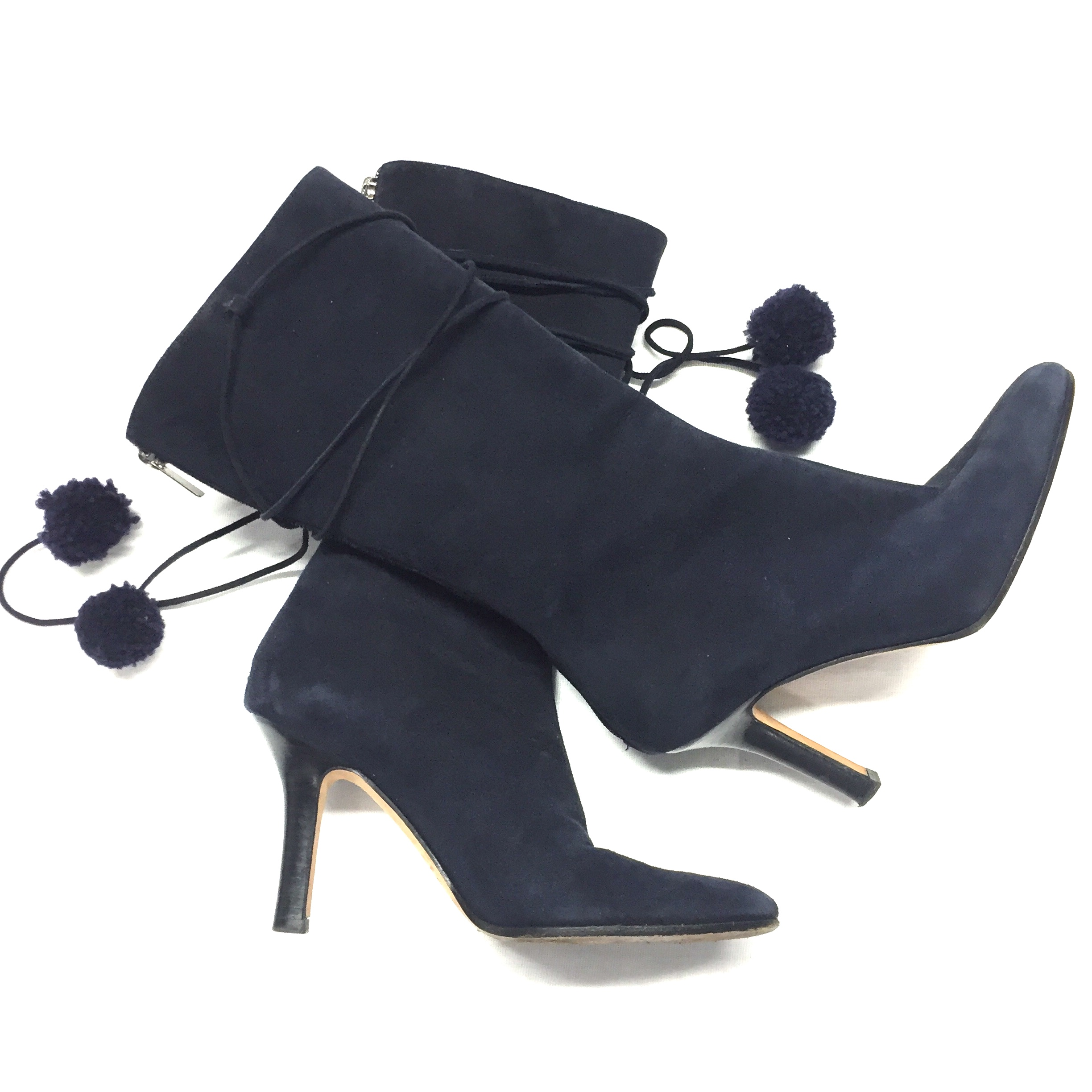 dbb26d2dfa9 Jimmy Choo navy suede boot size 36 - Closet Couture